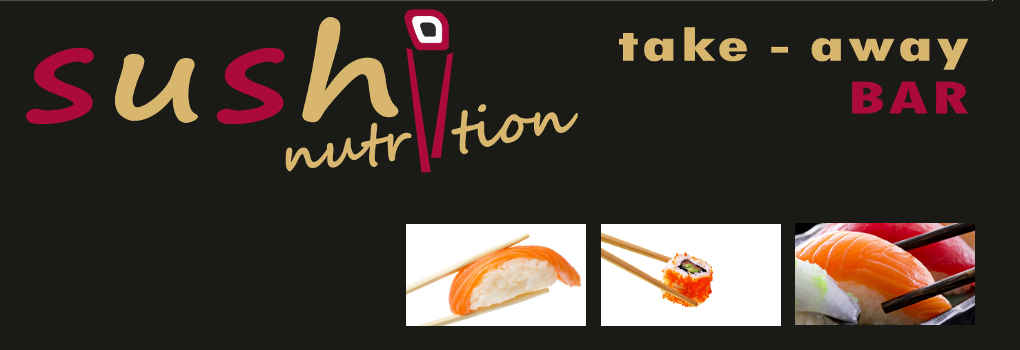 ¡SUSHI NUTRITION TAKE-AWAY BAR!